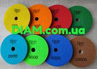 """Алмазные диски для полировки гранита """"Черепашки"""" 100 мм."""