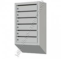 Ящик почтовый многосекционный на 6 ячеек