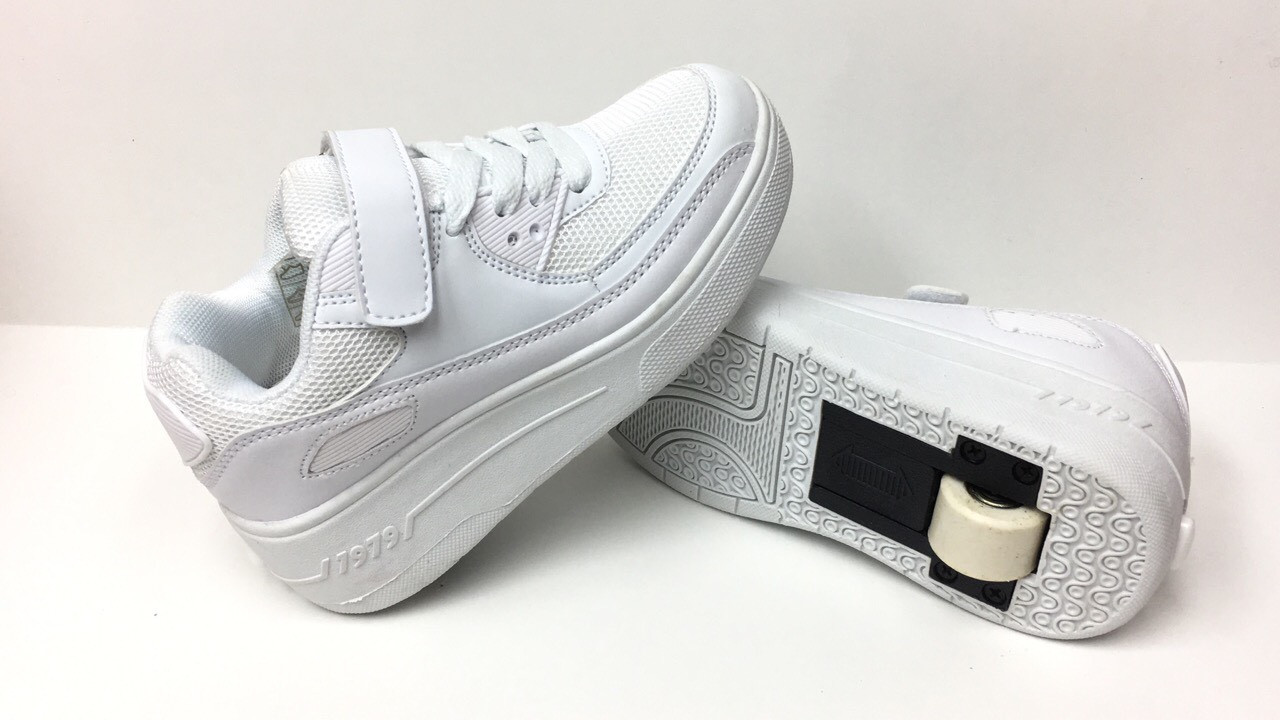 dee266ee Детские роликовые кроссовки оптом Heelys S-22 white (р.31-38 ...