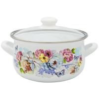 Pot.En. INFINITY 8015 /Кастрюля/cт.кр/24 см / 6 л /Цветы (6367493)