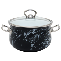 Pot.En. INFINITY SD 1308 Marble/Кастрюля /люкс/cт.кр/16 см / 2.1 л /Marble (6367521)