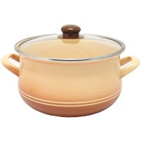 Pot.En. INFINITY TWO LINE /Кастрюля/cт.кр/24 см / 6 л /Cream (6435423)