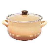 Pot.En. INFINITY TWO LINE /Кастрюля/cт.кр/22 см / 4.8 л /Cream (6435422)