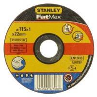 Акс.инстр Stanley круг отрезной по металлу, 115x1x22.2мм, тип DPC