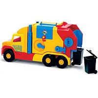 Оригинал. Машинка Мусоровоз Super Truck Wader 36580