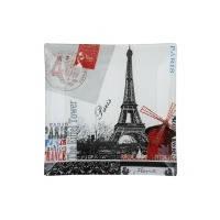 Блюдо VIVA PARIS квадрат./20 см в уп. (S3108-G043)