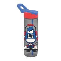 Бутылка д/воды пл. HEREVIN MONSTR 0.73 л д/спорта с трубочкой (161801-001)