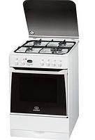 Газовая плита Indesit I6 GMH 6 AG (W )U (60 см,электрическая духовка,белый)