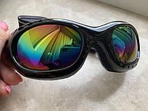 Мото очки для Каски под мото скутер мопед, фото 2