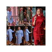 Элегантное вязаное платье мод. 3884, фото 1