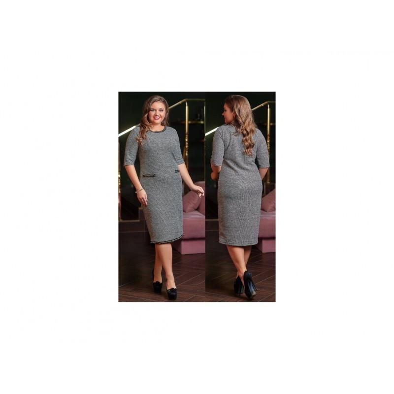 Брендовое платье Букле мод. 03903 ХЛ+