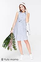 Платье-рубашка для беременных и кормящих BELINA SF-29.113, голубое в полосочку*, фото 1