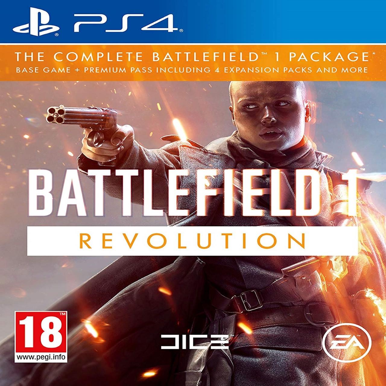 Battlefield 1 Revolution RUS PS4 (NEW)