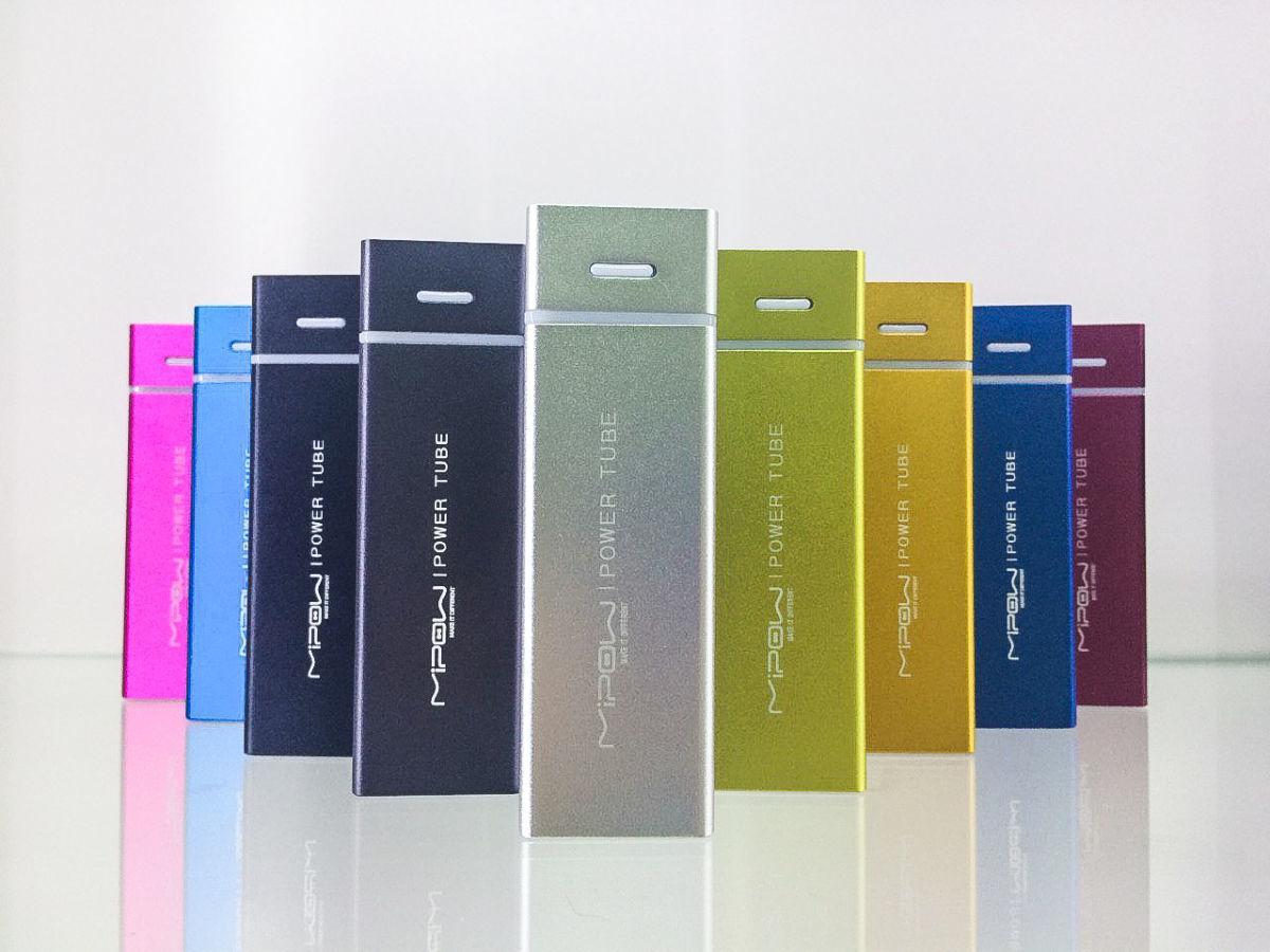 Універсальний зовнішній акумулятор для iPhone, iPod, iPad, Samsung та HTC Mipow Power Tube 5500 mAh (SP5500)