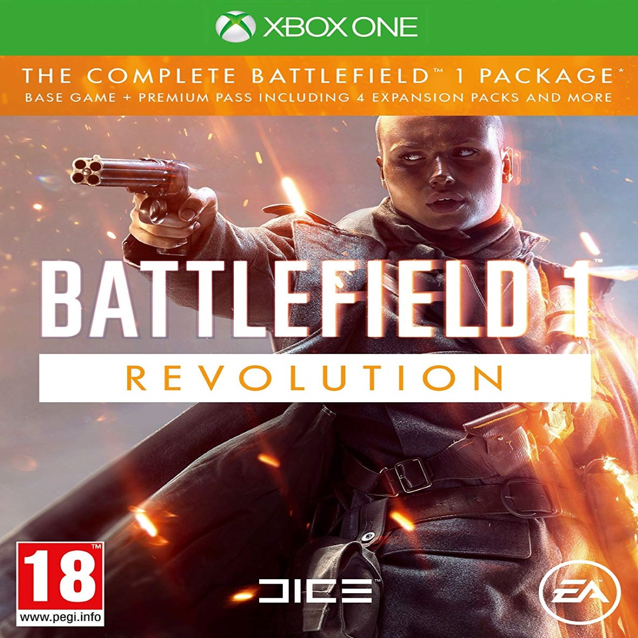 Battlefield 1 Revolution RUS XBOX ONE