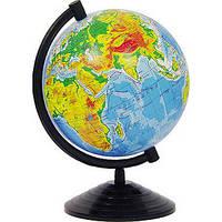 Глобус Физический d-22см (горы, реки, леса, пустыни) Рус, фото 1
