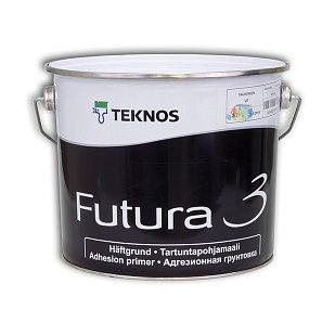 Алкідна грунтувальна фарба Teknos Futura 3, 2.7л
