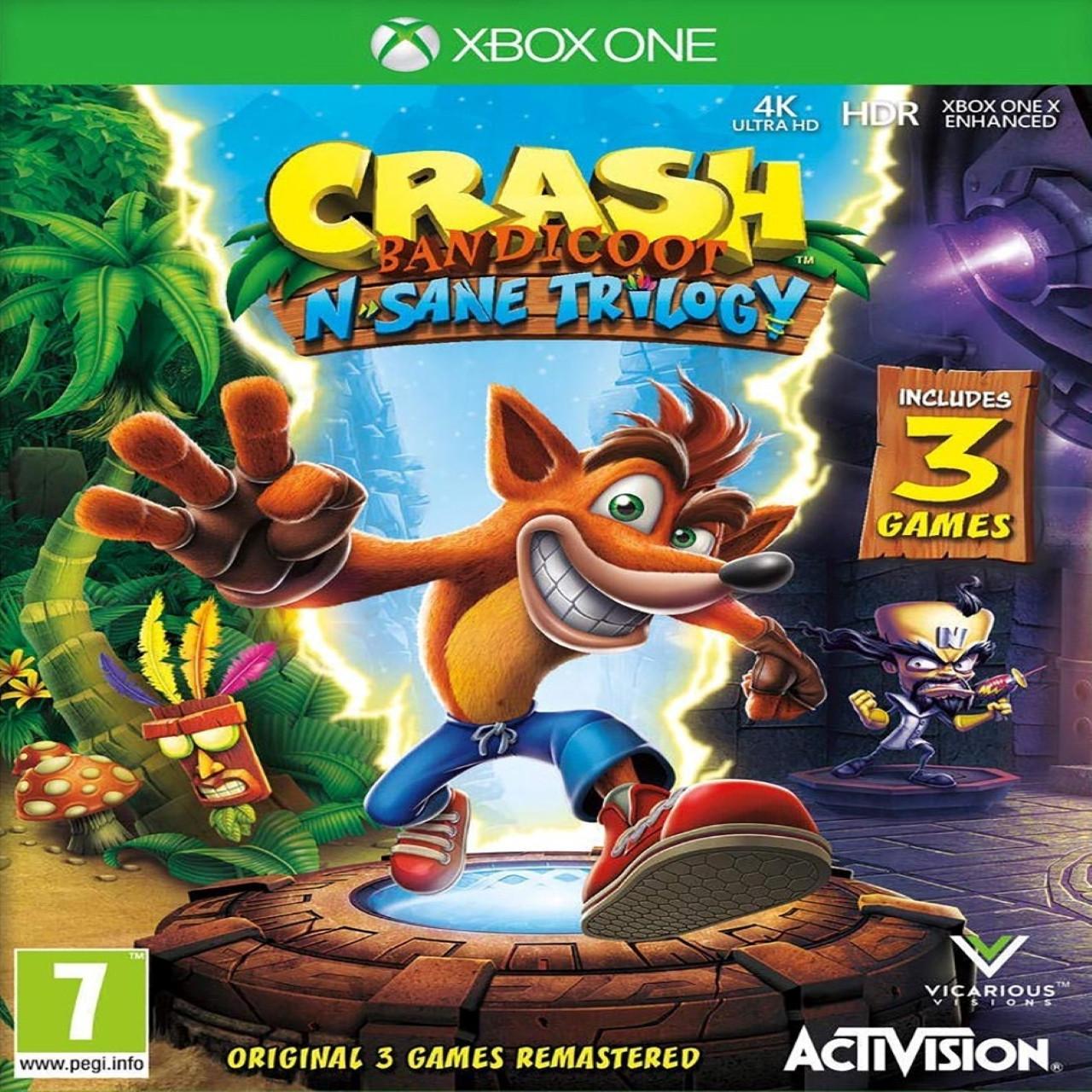 Crash Bandicoot N.Sane Trilogy ENG XBOX ONE