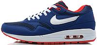 Мужские кроссовки Nike Air Max 87 (в стиле Найк Аир Макс 87) синие