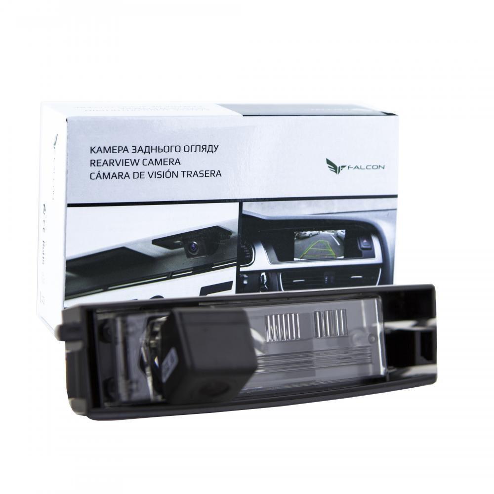 Штатная камера заднего вида Falcon SC02-SCCD. Toyota RAV4 III 2010-2012/Tiggo 2005+/Auris II 2013+