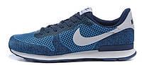 Мужские кроссовки Nike Internationalist Blue (в стиле Найк) синие
