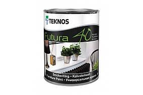 Фарба для дерева та металу Teknos Futura 40, 0.9л