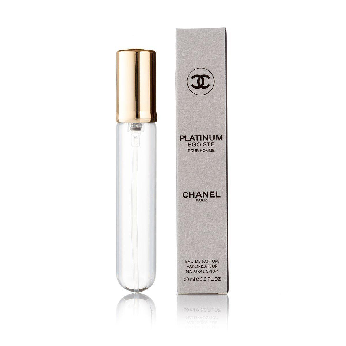 Мужской парфюм Egoiste Platinum - 20 мл