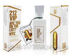 Мини-парфюм женский 60 мл. Carolina Herrera 212 Vip woman