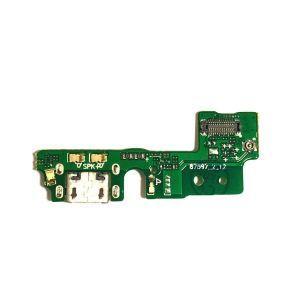 Плата зарядки Huawei Honor 6A (DLI-TL20, DLI-AL10) с разъемом зарядки с микрофоном