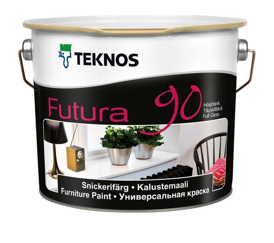 Фарба для дерева та металу Teknos Futura 90, 2.7л