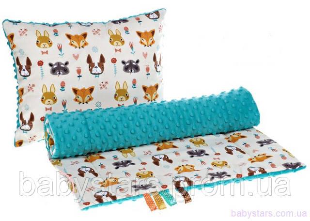 одеяло и подушка в коляску