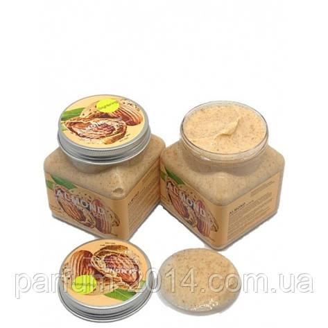 Миндальный Скраб для тела Wokali Almond Sherbet Body Scrub 350 мл (реплика), фото 2