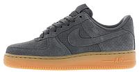 Мужские кроссовки Nike Air Force 1 Low Grey (в стиле Найк Аир Форс низкие) серые