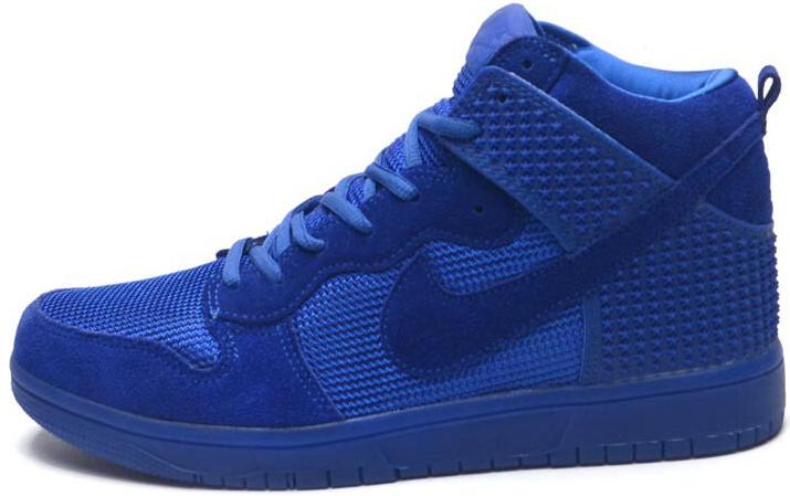 3271e3d0 Мужские высокие кроссовки Nike Dunk Premium (в стиле Найк Данк) синие, цена  1 428 грн., купить в Киеве — Prom.ua (ID#945949558)