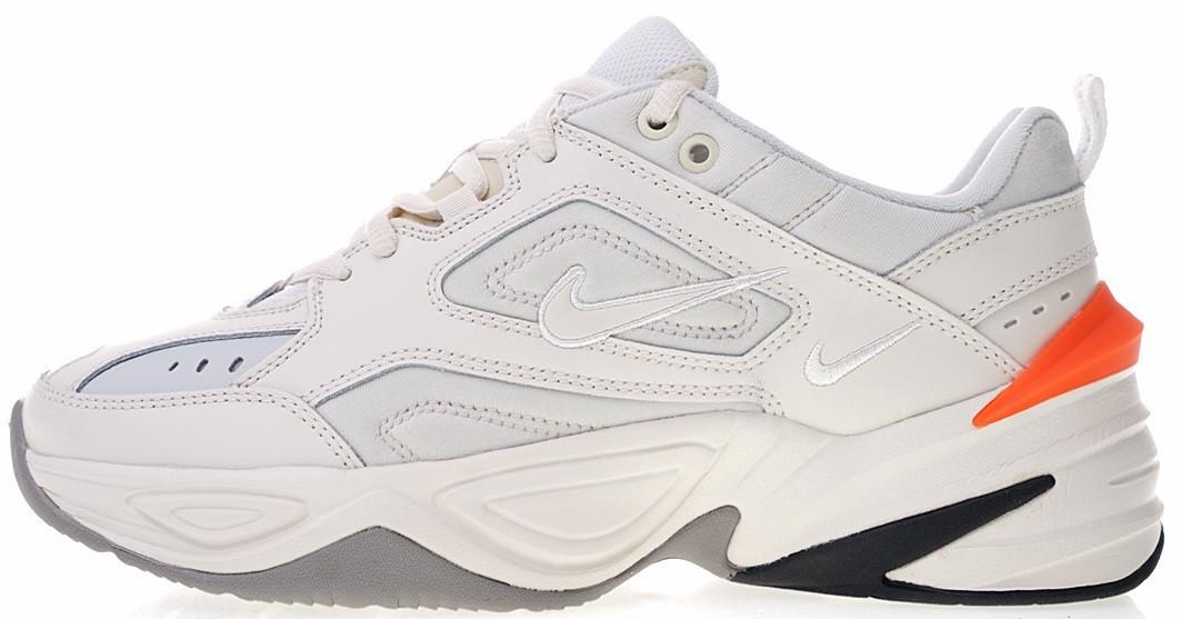 8f01c3cc Мужские кроссовки Nike M2K Tekno Phantom/Olive Grey (Найк Текно) белые -  Мультибрендовый