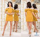 СТИЛЬНОЕ платье NOBILITAS 42 - 48 бирюзовое (арт. 18012), фото 3