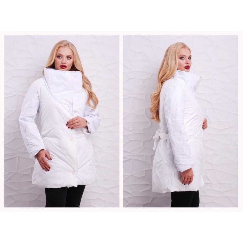 Куртка белая мод. 754 ХЛ+