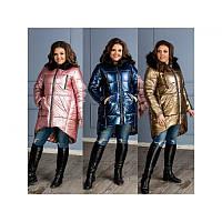 Зимнее женское пальто 5147 ХЛ+, фото 1