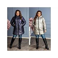 Зимнее женское пальто  мод. 5145 ХЛ+, фото 1