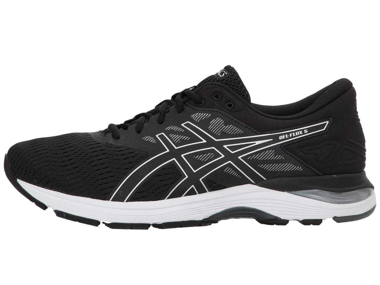Черные мужские кроссовки для бега ASICS GEL-FLUX 5 ( ОРИГИНАЛ )  T811N-9093