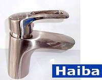 Смеситель для умывальника HAIBA HANSBERG-001 (нержавейка)
