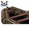 Килевая лодка Аквамания AMK-310 с жестким дном - слань-книжкой трехместная со сдвижными сиденьями + бронь киля, фото 2