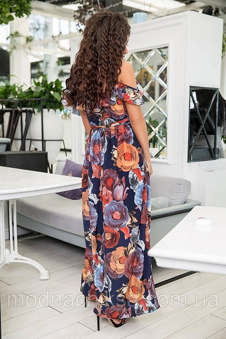 Платьецветочный принт