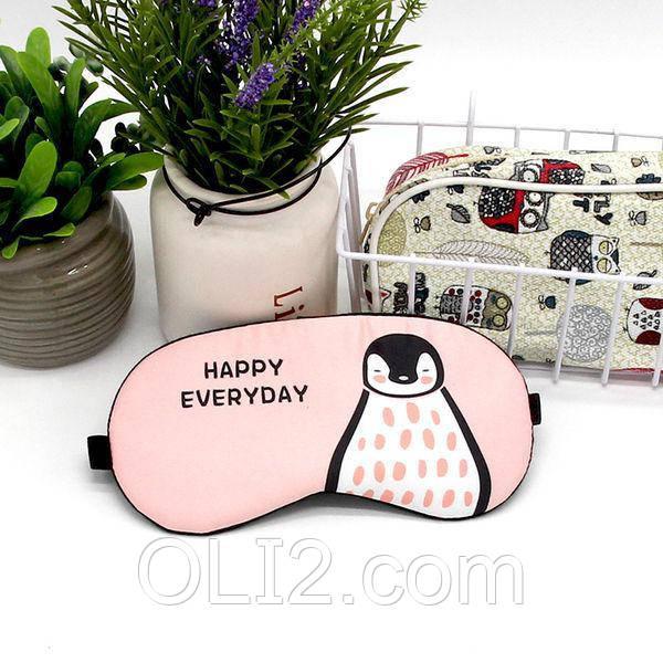 Маска для сна с гелем внутри Happy Everyday Пингвин
