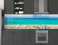 Рабочая поверхность на Кухонная панель на фартук ПЭТ 62х205 см (под заказ любой размер)