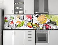 Кухонная панель на фартук ПЭТ 62х205 см (под заказ любой размер)
