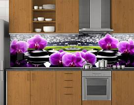 Фартук кухонный из заменителя стекла 62х205 см (под заказ любой размер), фото 3