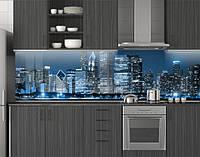 Кухонная панель на фартук, заменитель стекла ПЭТ 62х205 см (под заказ любой размер)