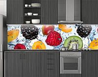 Кухонное скинали из заменителя стекла ПЭТ 62х205 см (под заказ любой размер)