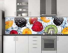 Кухонное скинали из заменителя стекла 62х205 см (под заказ любой размер), фото 2